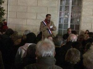Rassemblement Devant La Mairie Avant Le Conseil Municipal Du 12 Février - 3